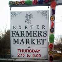 4) Exeter Farmers' Market