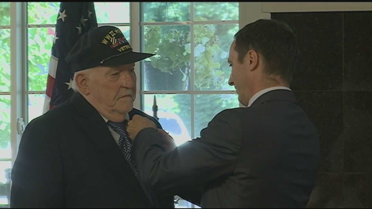 Derry Veteran Receives France's Highest Honor For Foreign Service Members