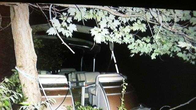 Winnisquam Boat Crash
