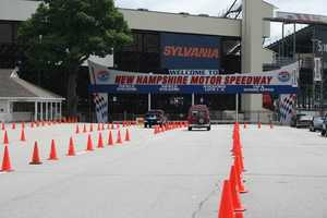 Rev your engine at New Hampshire Motor Speedway, especially when a NASCAR race is in town.