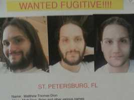 On Sept. 23, 2014, police in Florida said they believe Dion lived in the St. Petersburg area until Sept. 6.