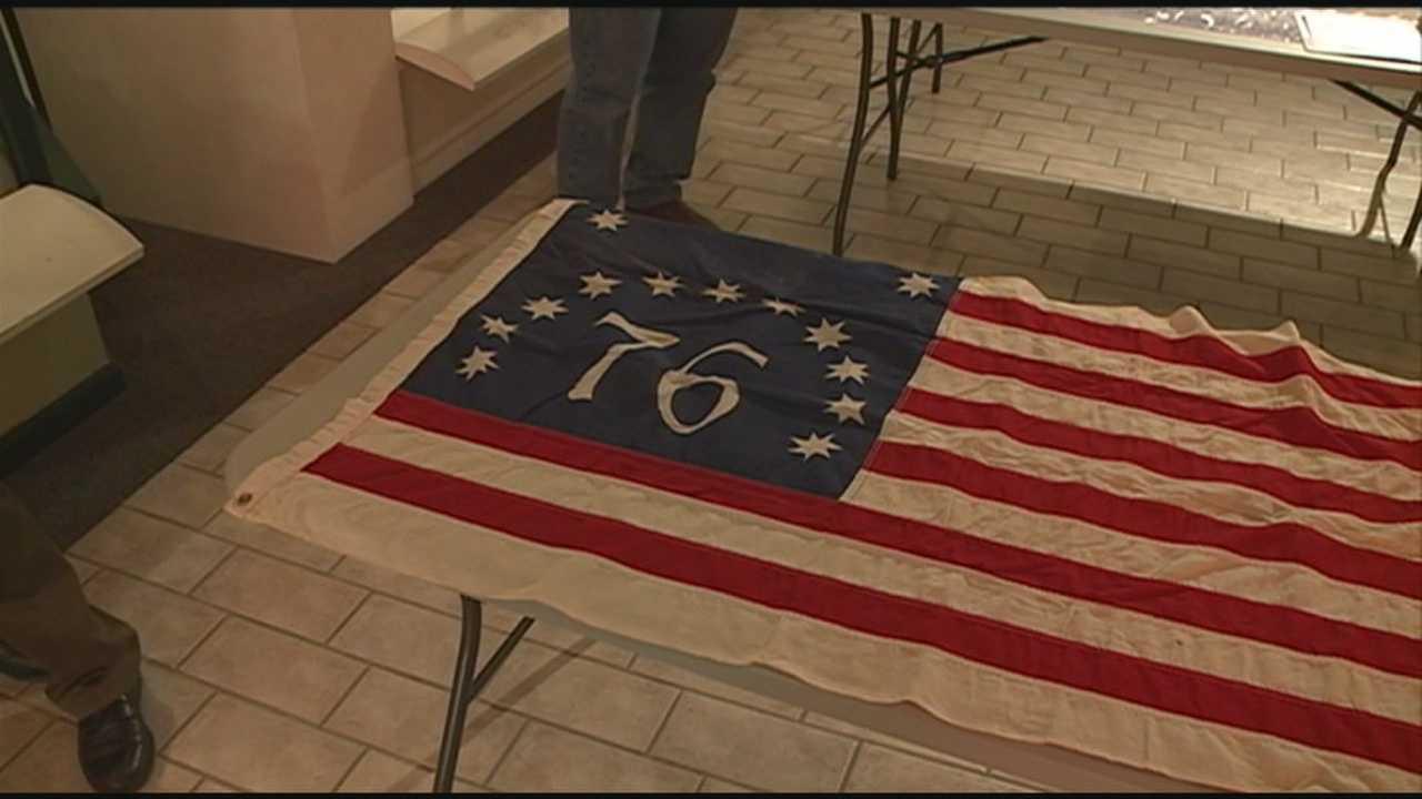 Flag stolen in 1976 returned to Manchester