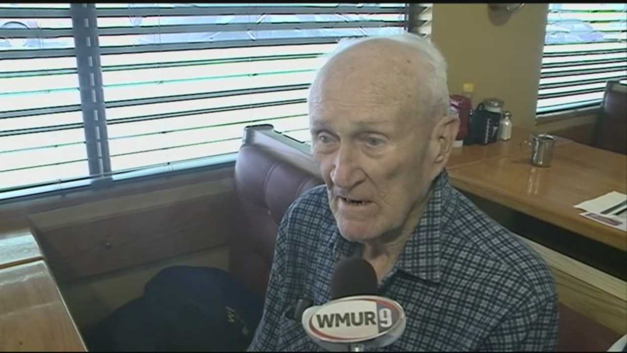 Man, 101, eats birthday breakfast on the house
