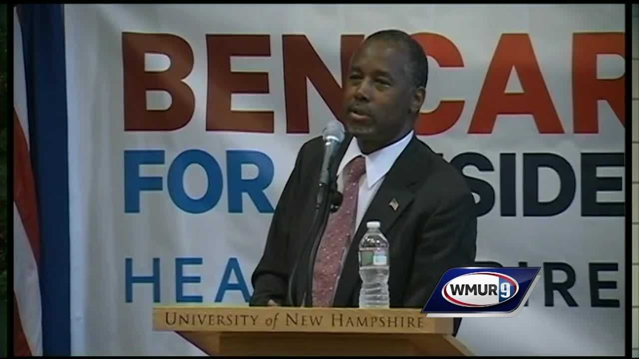 Ben Carson Absent in NH
