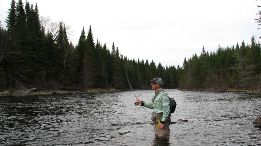 Beginner fly fishing instruction offered for Beginning fly fishing