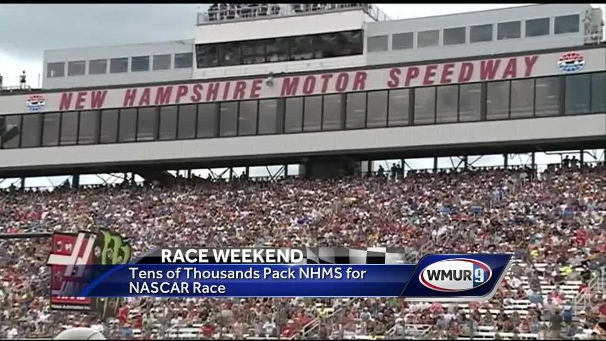 Massive Crowd Packs Nh Motor Speedway For Nascar Race