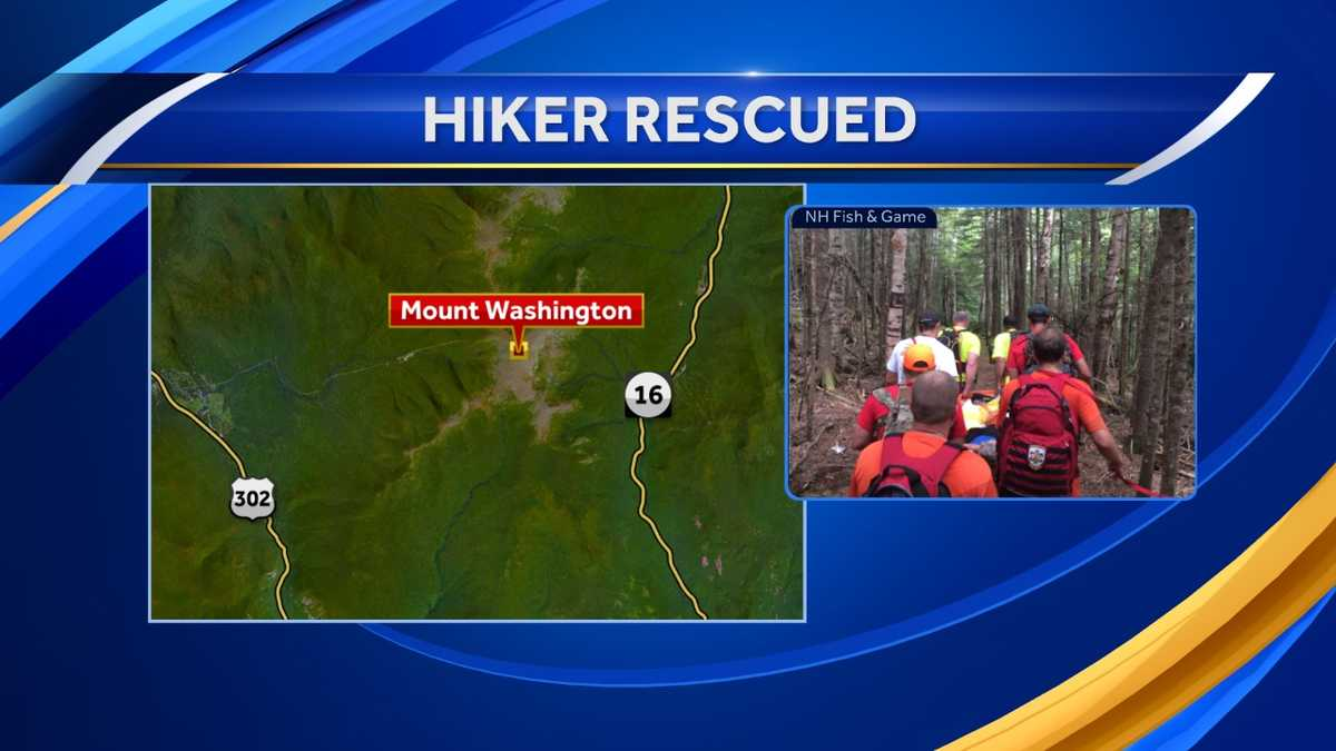 Fish And Game Makes Third Rescue Off Mt Washington In