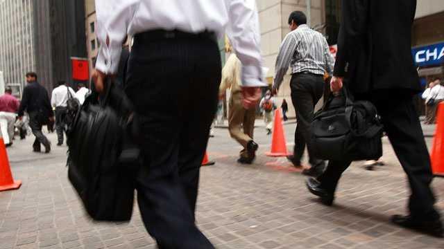 Worker, job, businessma, Wall Street