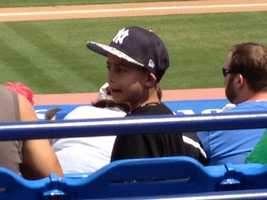 Fans young and old came out to the ballpark to cheer on their favorite team. (Angela Rozier/WPBF)