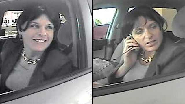 041812 Surveillance pictures woman cashing bad check