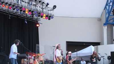 The Marshall Tucker Band performs at SunFest. (Peter Burke/WPBF)