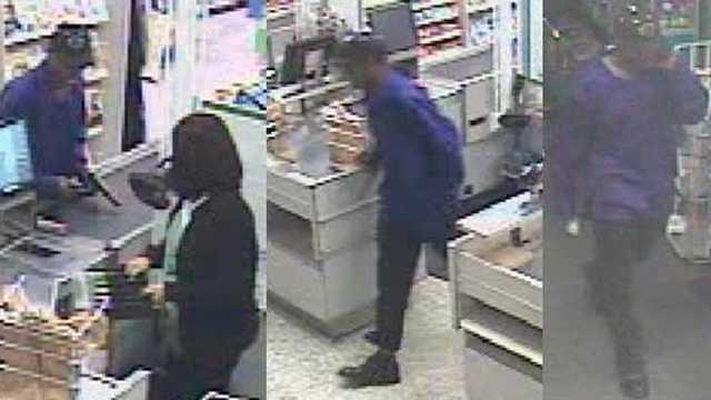 Thief who stole from cash register