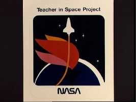 Teachers in Space project logo for mission STS 51-L