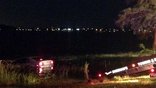 052812 Car into Clear Lake