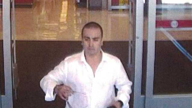 Detectives say this man tried to use a credit card stolen from at the Target in Coral Springs.
