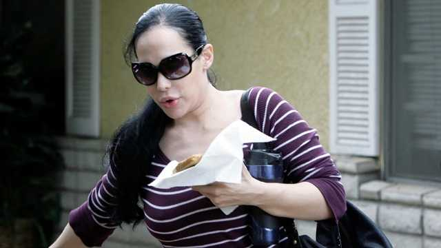 Nadya Suleman, better known as Octomom, was sued in July after backing out of a deal to strip at a local men's club. But TMZ is now reporting that she'll strip at T's Lounge in West Palm Bach in February. (Photo: AP Graphics Bank)