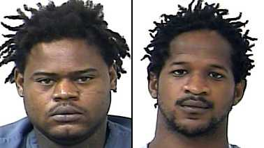 Johnterius Osbourne and Sharmarcko Evans each face multiple charges after police found 35 grams of marijuana and a gun inside Osbourne's home.