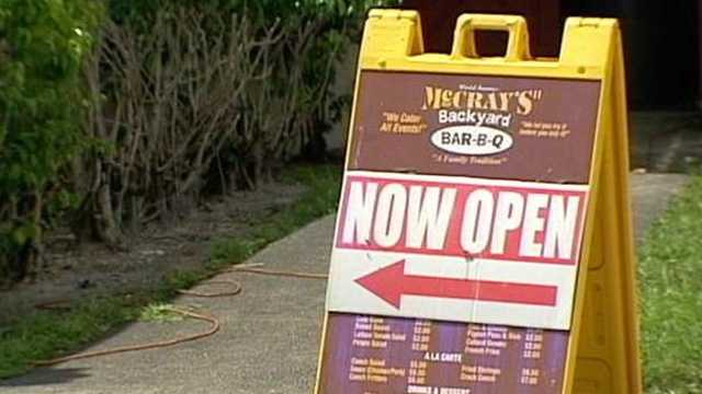 070612 McCray's BBQ Sign