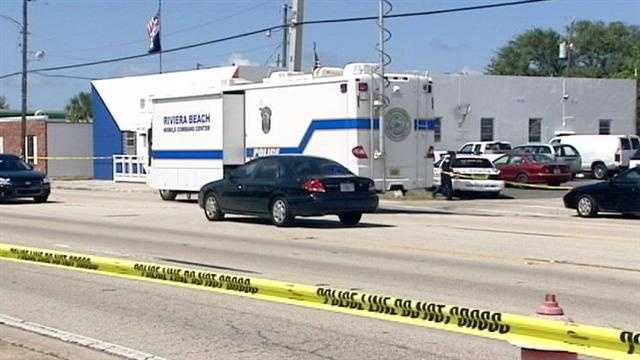 Police say a man was found dead in the parking lot of the Veterans of Foreign Wars in Riviera Beach.