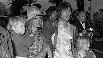 Richards and longtime girlfriend Anita Pallenberg, pictured here at the Cannes Film Festival in 1971, never married, but they had two children together. It came at the expense of Jones, who was romantically involved with Pallenberg before she left him for Richards in 1967. They eventually parted ways in 1980. Richards wrote in his autobiography that Pallenberg had a tryst with Jagger, although she has denied it.