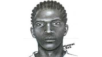 The Broward Sheriff's Office has released this sketch of the gunman who followed a check-cashing store employee home and robbed her.