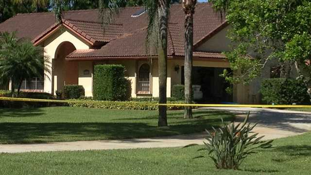 One person was shot after breaking into a Palm Beach County home on Friday, investigators said. (Chris Emma/WPBF)