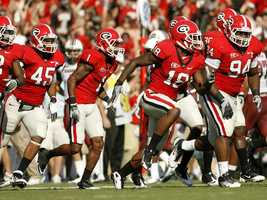 The Georgia Bulldogs have kept pretty much the same uniform style for decades. (Photo: Georgia Athletics)