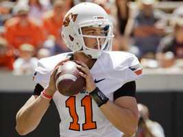 The inexperienced Wes Lunt has the difficult task of filling in for quarterback Brandon Weeden, who led a high-powered offense at Oklahoma State the last two years. (Photo: OSU Athletics)