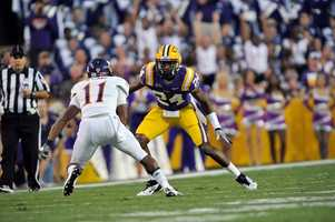 LSU's Tharold Simon already had a tough job replacing departed cornerback Morris Claiborne. He will be counted on more than ever now that Tyrann Mathieu has been kicked off the team. (Photo: LSU Sports Information)