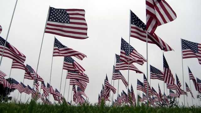 081412 640 Flags at Pepperdine