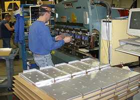 28. Extruding, Forming, and Pressing Machine Operators - 27.6% growth (+688 jobs) - $31,096