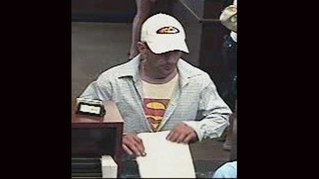 Police are trying to identify this man who robbed a Chase branch in Stuart.