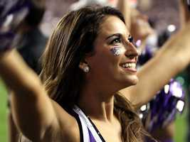 Thanks social media and convenient photo sharing, folks who once thought TCU was merely a football school now know better. The Horned Frogs' sideline supporters get a lot of love on Twitter and Facebook. (Photo: John P. Wise/WPBF)