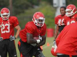 Georgia now turns to true freshmen Keith Marshall, who enrolled in the spring, and Todd Gurley at running back after Isaiah Crowell was dismissed from the team in June after his arrest on felony weapons charges. (Photo: Georgia Athletics)