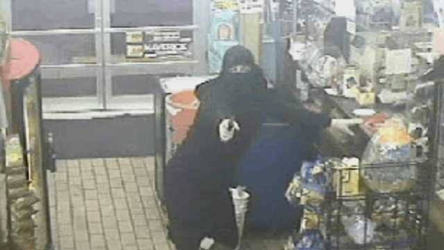 """The man being dubbed the """"ninja robber"""" has held up at least 11 businesses in Broward and Miami-Dade counties."""