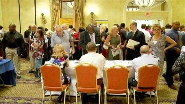 More than 2,000 show up for WPB job fair