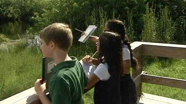 In this week s Class Act, Paul LaGrone meets some world changers at Village Green Environmental Studies in School in Port St Lucie.