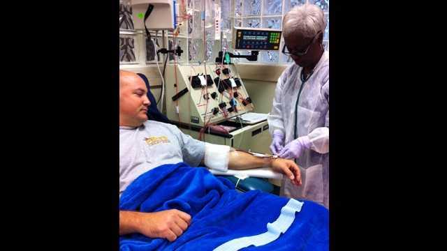 092112 D.J. Manger donates bone marrow