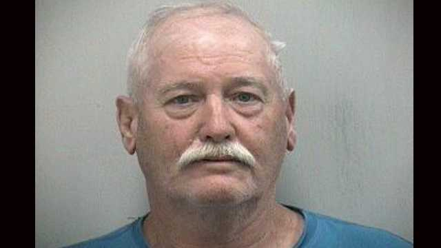 Lester Gebler was arrested on charges of marijuana possession and marijuana possession with intent to sell.
