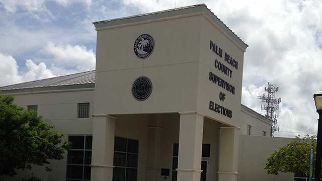 With barely a month left before the presidential election, the Palm Beach County Supervisor of Elections Office has a voter-registration fraud to figure out. (Photo: Cathleen O'Toole/WPBF)
