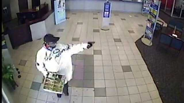 This man was one of two people who robbed the Banco Popular in Sunrise on Saturday morning.
