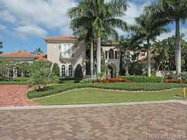 Take look at what's behind the doors of this West Palm Beach mansion listed at $5.495 on realtor.com