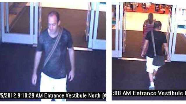 Police say this man stole $3,250 worth of iPods from a Target in Boynton Beach.