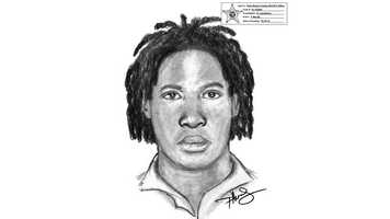 Detectives have released this sketch of a man who snatched money from a cashier at El Presidente in Lake Worth.