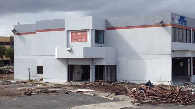 The Burt Reynolds & Friends Museum in Jupiter is in the process of being torn down.