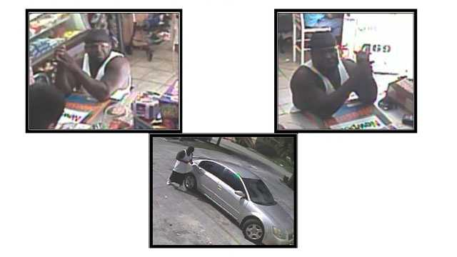 Police are trying to identify this man who used gift cards stolen during a burglary at Big Easy Arcade.