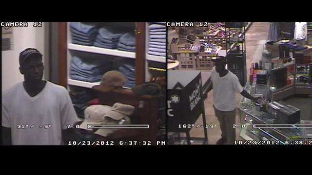 Indian River Mall person of interest surveillance images