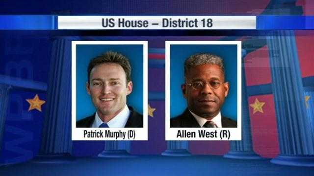 Graphic Patrick Murphy and Allen West