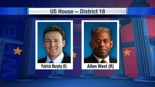WPBF 25 News previews the hotly contested congressional race between Patrick Murphy and Allen West.