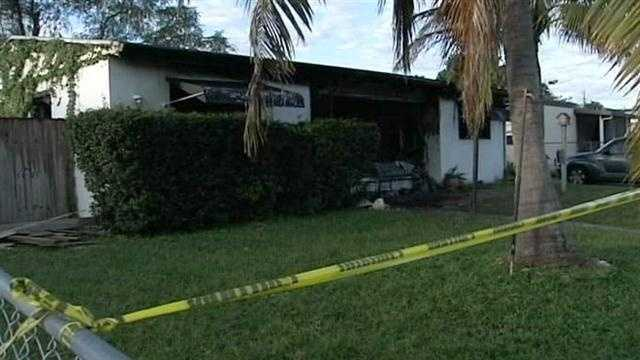 Mother, son hospitalized after house fire